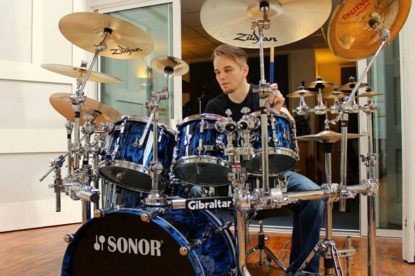 Master Class in Studio di Registrazione con Gavin Harrison